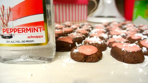 peppermint schnapps cookies