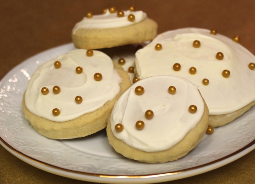 Champagne Sugar Cookies