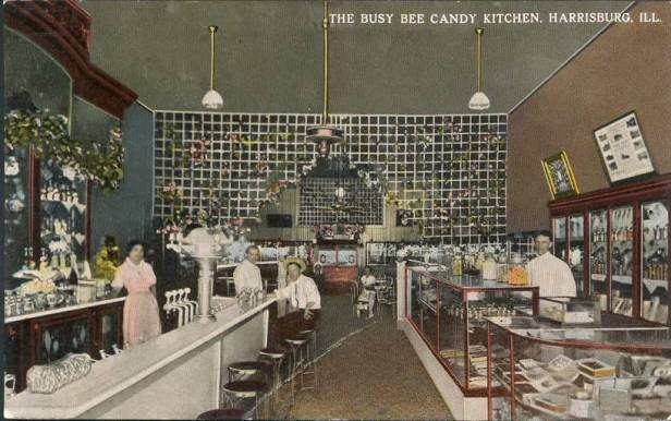 The_Busy_Bee_Candy_Kitchen_Harrisburg_Ill